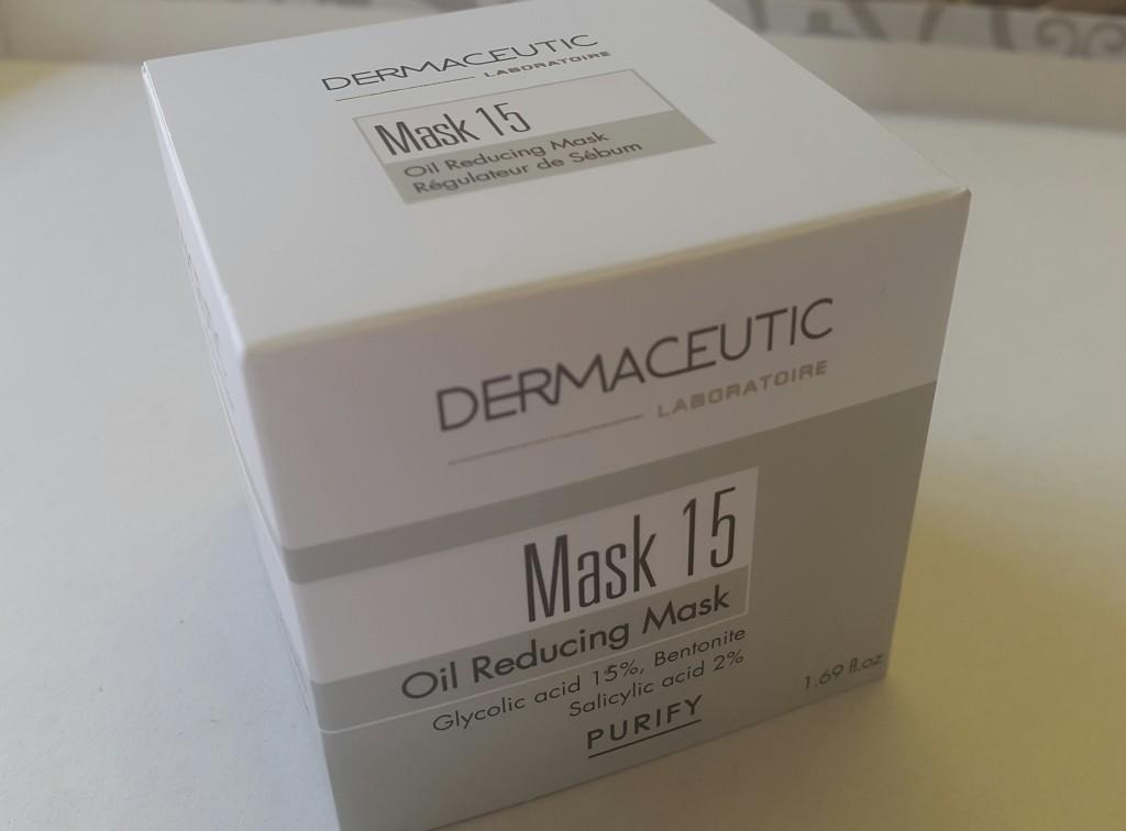 Dermaceutic Mask 15 Oil reducing mask glycolic acid