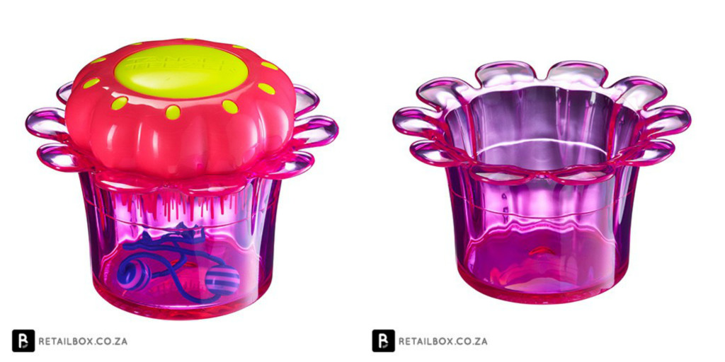 Tangle Teezer Magic Flowerpot purple