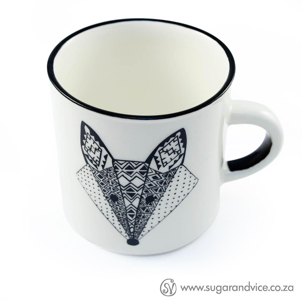 Vixen Ceramic Coffee Mug Sugar & Vice