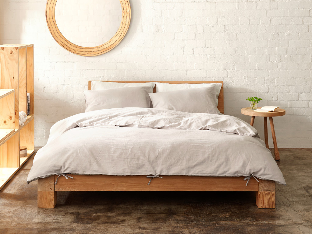 Cotton On bedding homeware neutral mist