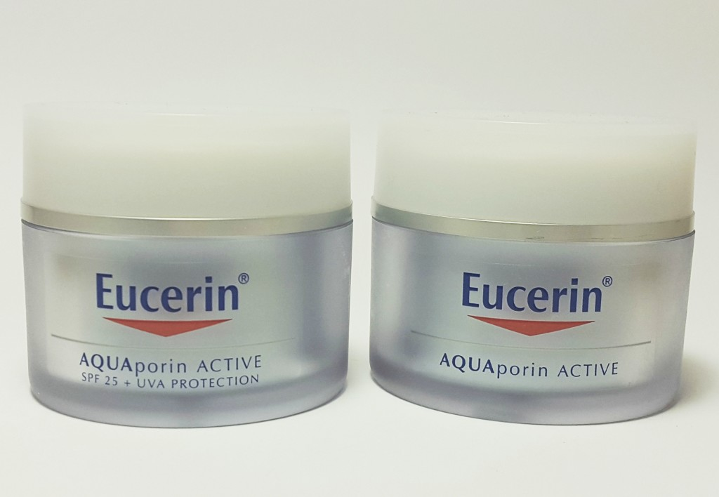 Eucerin AQUAporin Active moisturiser review Pretty Please Charlie
