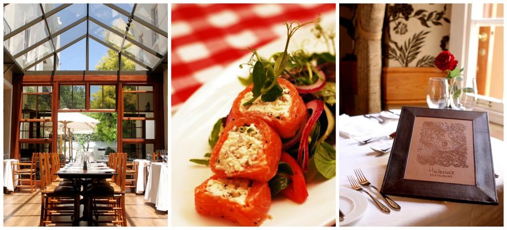 Helena's restaurant Stellenbosch