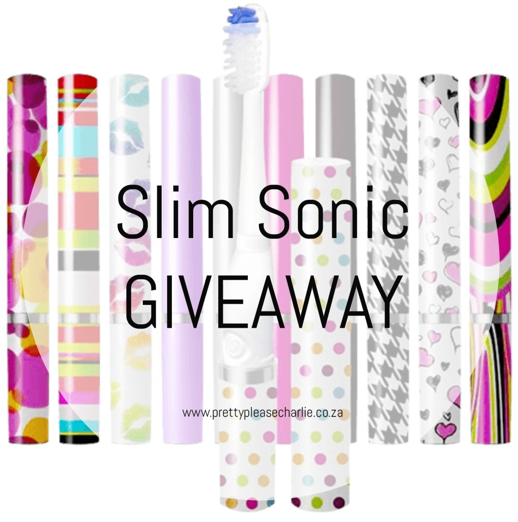 Slim Sonic The Stylish Toothbrush Giveaway Pretty Please Charlie