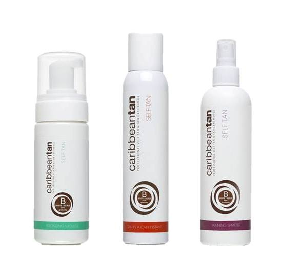 Caribbean Tan Self Tan Tan in a Can Aerosol, Tanning Spritzer, Tan Bronzing Mousse