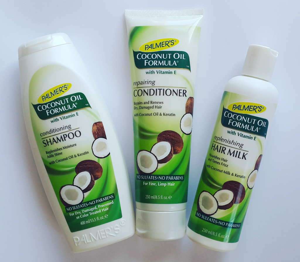 Palmer's Coconut Oil Formula Hair Care Range Shampoo, Conditioner Hair Milk Review