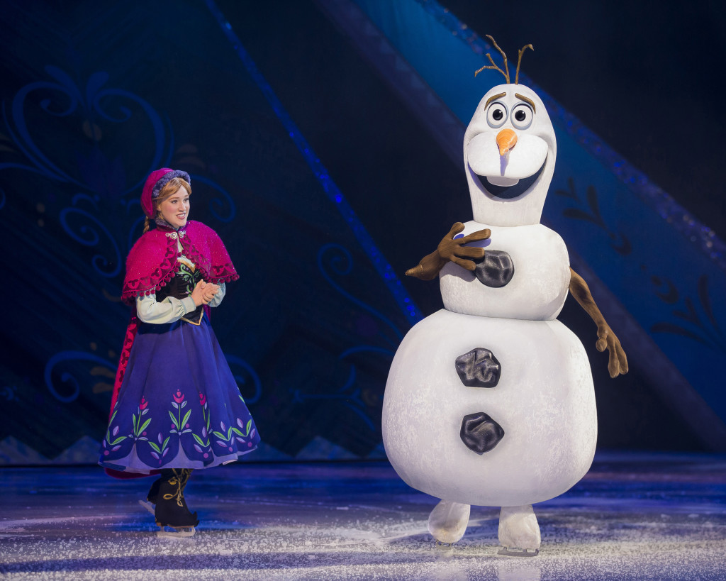Disney On Ice presents Worlds of Enchantment  Anna & Olaf from Disney's Frozen Anna & Olaf