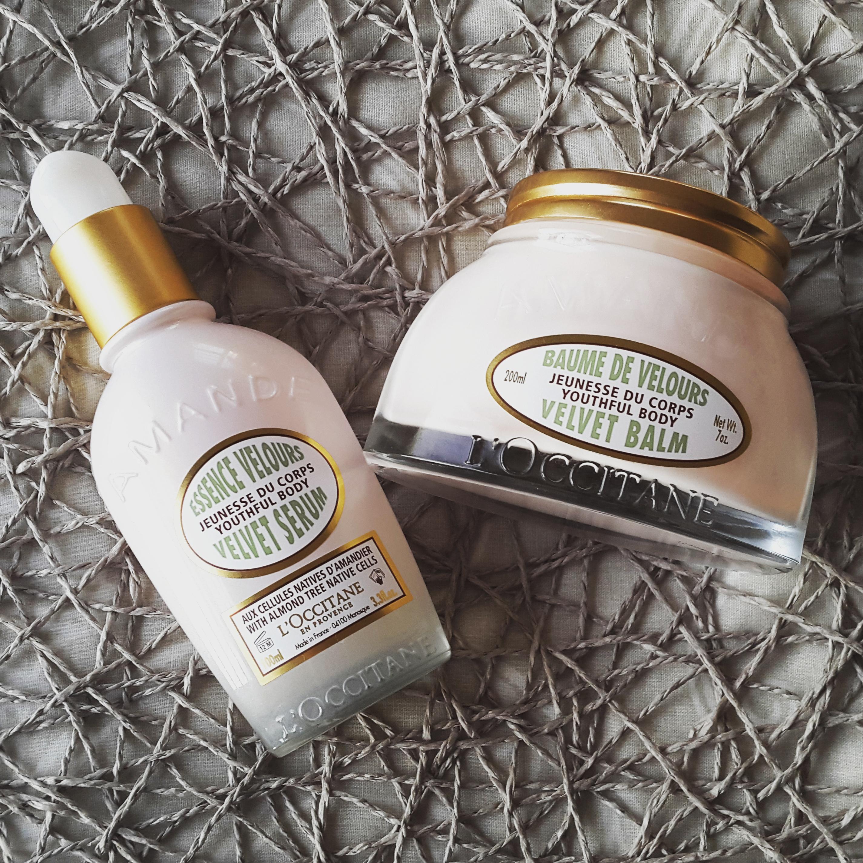 L'Occitane Youthful Body Almond Velvet Balm & Velvet Serum Reviews
