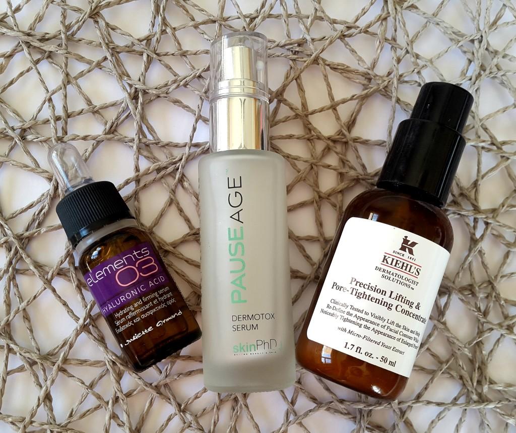 Skin serum reviews Kiehl's, skinPhD, Juliette Armand