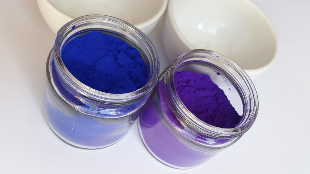 DIY Hair Colour sapphire blue and amethyst purple Pretty Please Charlie