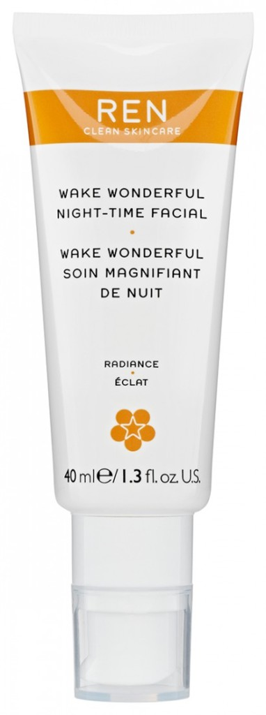 REN Skincare Wake Wonderful Night Time Facial review
