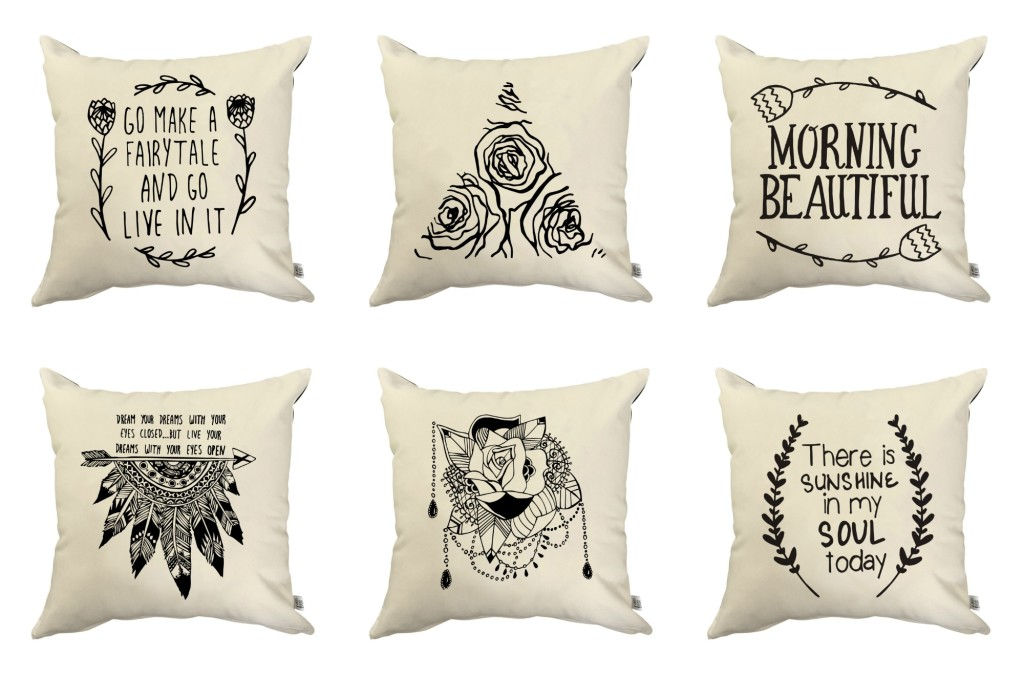 Sugar and Vice Quirky Quote Scatter Cushion Covers