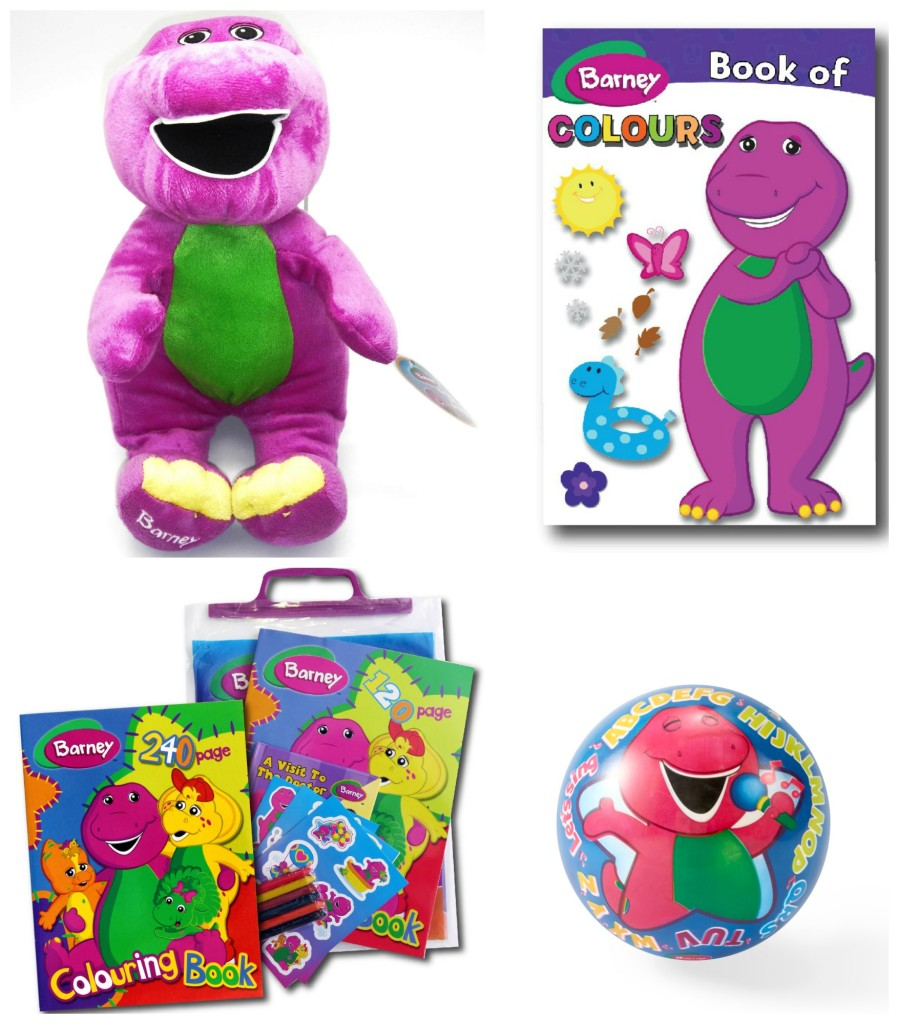 Barney hamper giveaway