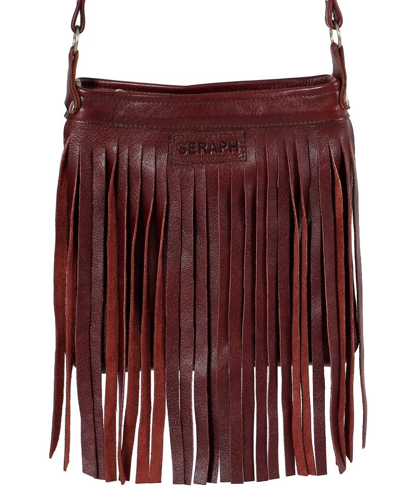 Fall for Winter Zando fringe bag