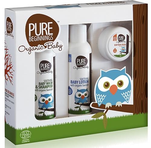 Blog Birthday Giveaway: Pure Beginnings Organic Baby Gift Set