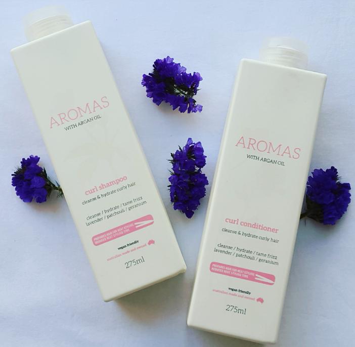 Review: Aromas Curl Shampoo & Conditioner
