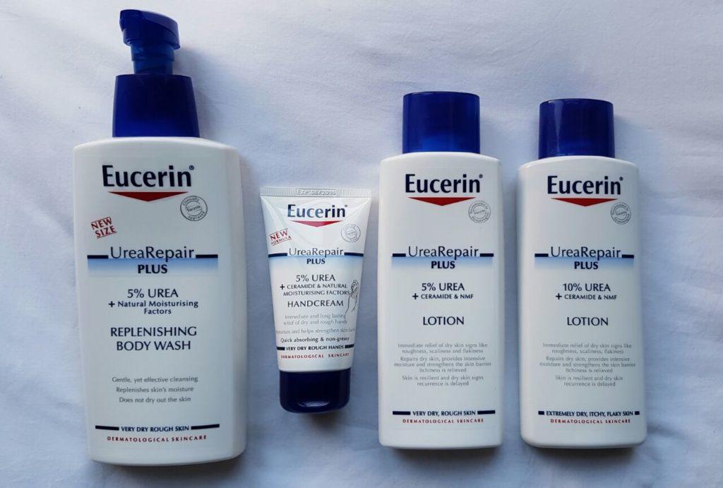 New Eucerin UreaRepair Plus