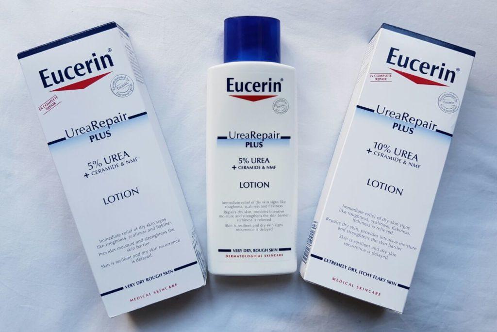 New Eucerin UreaRepair Plus lotion