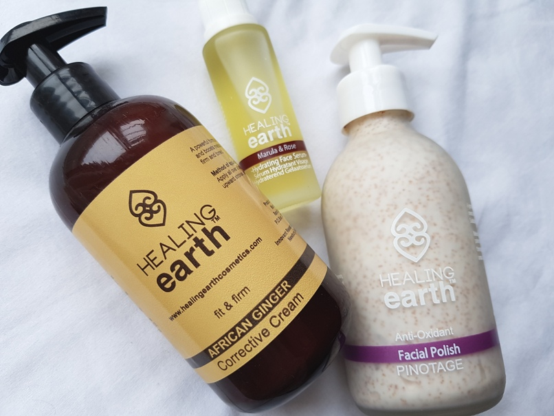 Skin treats from Healing Earth Pretty Please Charlie