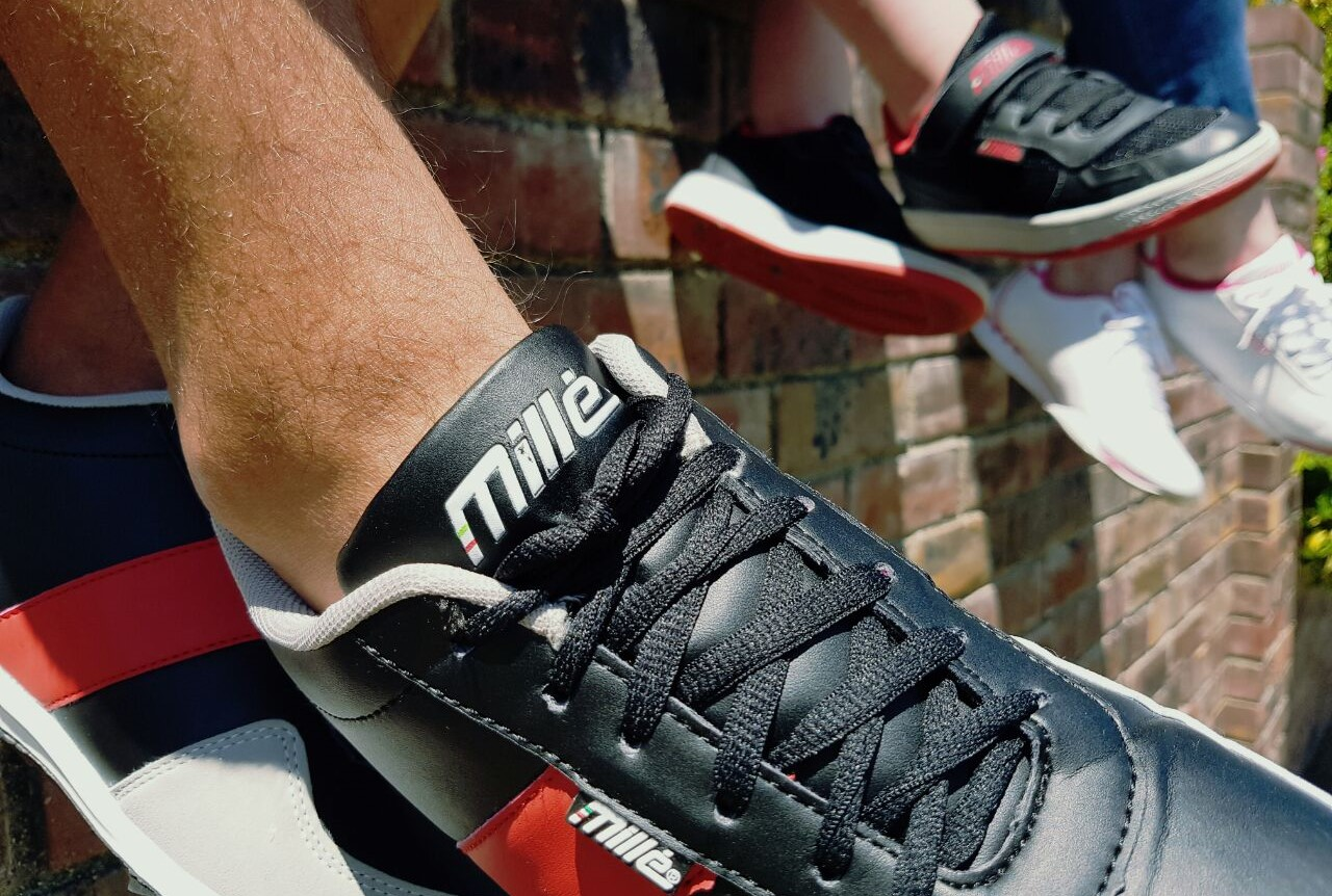 Win Millé sneakers for the whole family