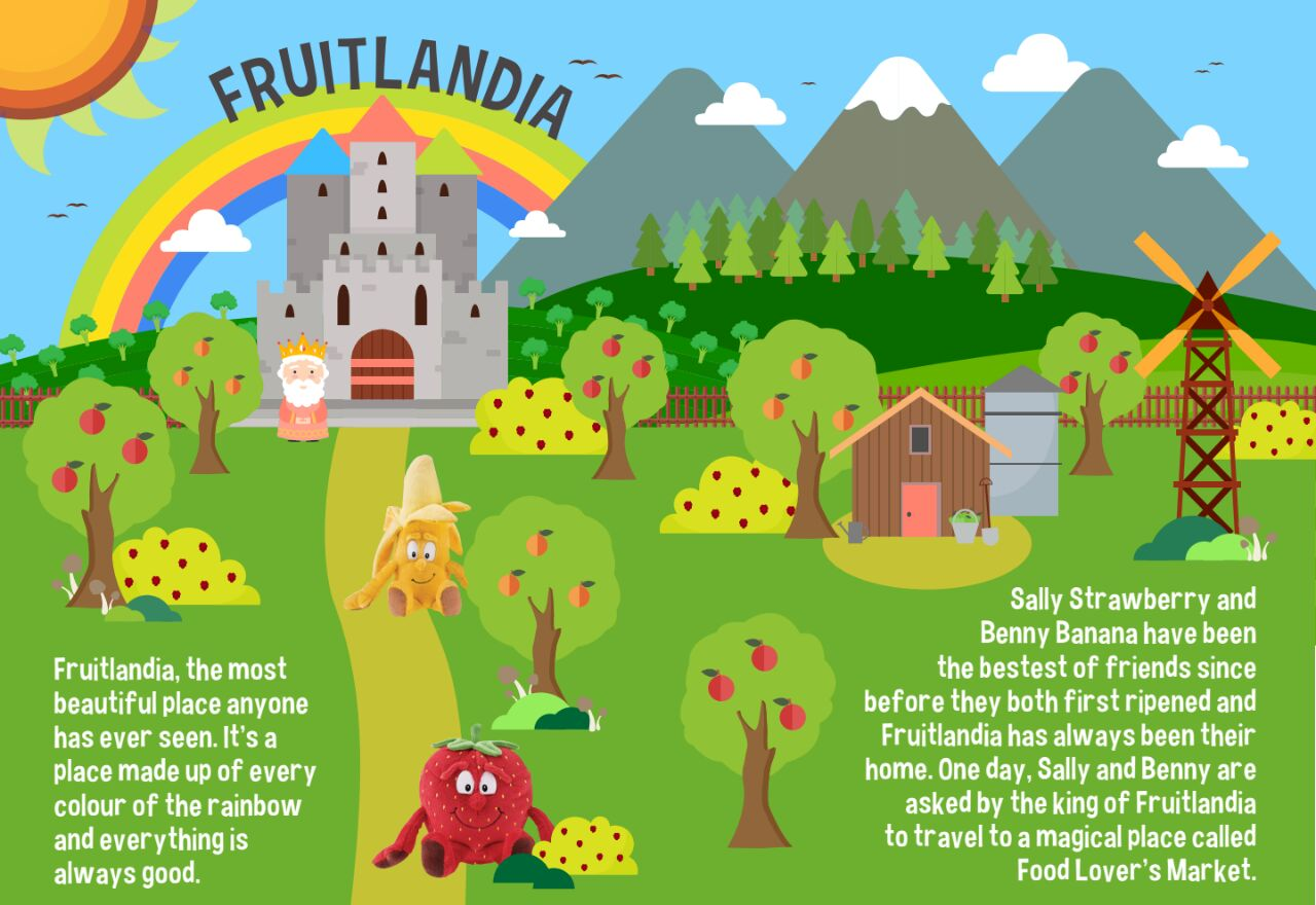 Fruitlandia Goodness Gang Adventures
