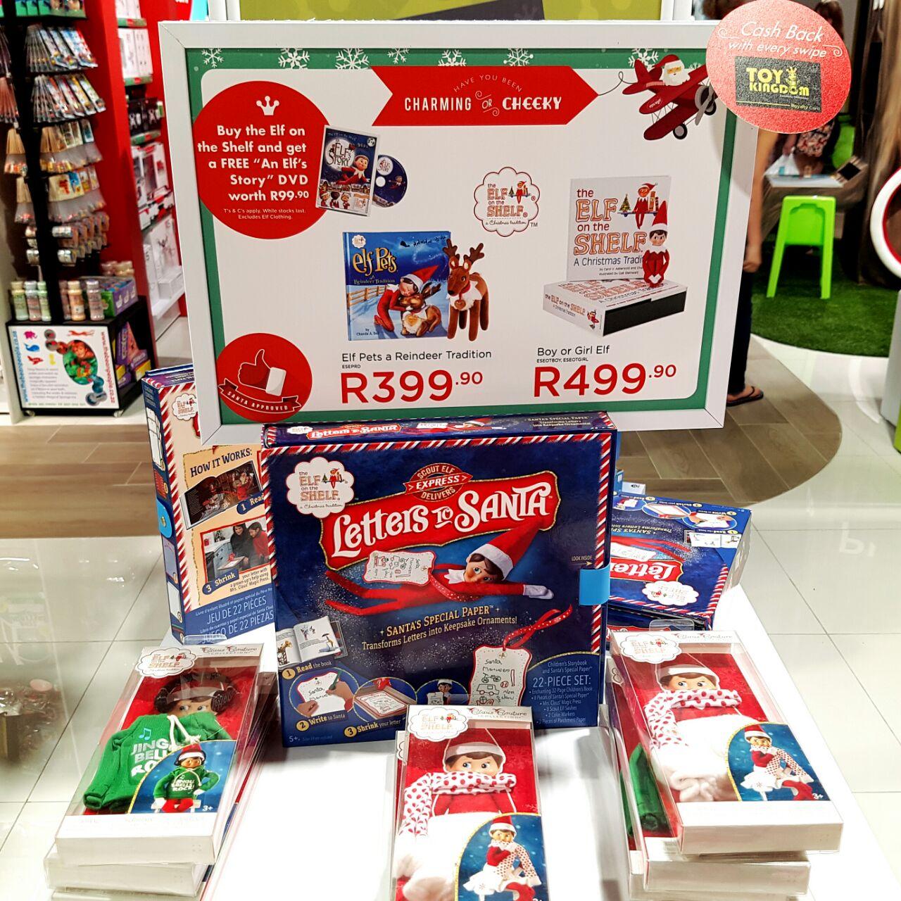 Toy Kingdom Elf on the shelf
